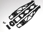 BLACK G-10 STANDARD DRAG CHASSIS KIT WITHOUT WHEELIE BARS