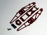 RED G-10 SHORT MICRO CHASSIS KIT