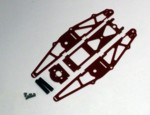 RED G-10 SHORT MICRO CHASSIS KIT (20043)