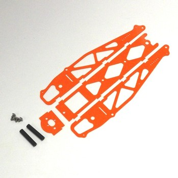 ORANGE G-10 STANDARD DRAG CHASSIS KIT WITHOUT WHEELIE BARS (20027)