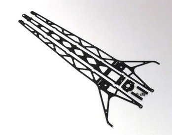 CARBON FIBER TOP FUEL DRAGSTER CHASSIS KIT w/ WING STAND (20054)
